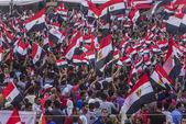 Egyptské protest proti muslimské bratrstvo — Stock fotografie