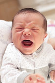 New Born Baby Crying — Stock Photo