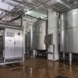 Dairy Food Production Plant — 图库照片