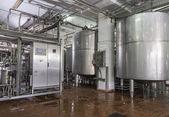 εργοστάσιο παραγωγής γαλακτοκομικών τροφίμων — Φωτογραφία Αρχείου