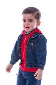 Little Boy Crying — Stock Photo