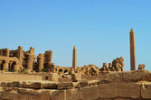 Ancient Egyptian Karnak Temple — 图库照片