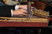 Arabian Qanon Musical Instrument — Stock Photo