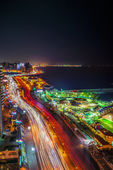 Alexandria City at Night — Stock Photo