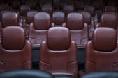 Cinema Chairs — Stock Photo