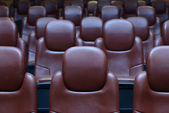 Empty Cinema Chairs — Foto Stock