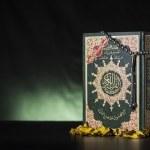 Quran Holy Book and Subha — Stock Photo #49151437