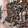 Love locks — Stock Photo #13303266