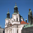 Prague: St. Nicholas church — Stock Photo #13303461
