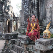 Apsara at Angkor - Stock Photo
