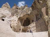 Cave church in Cappadocia, Turkey — Stock Photo