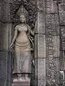 Apsara at Angkor — Stock Photo