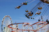 Fun fair rides — Stock Photo