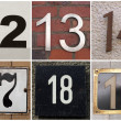 Stock Photo: Numbers 11 to 20
