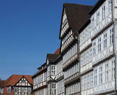 Half-timbered houses in Hannover, Germany — Stock Photo