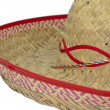 Stock Photo: Straw sombrero