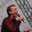 Постер, плакат: Austrian musician Hubert von Goisern performs at the Linz Europa