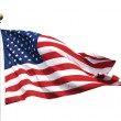 The American flag on a flagpole — Stock Photo #28155171