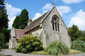 Small chapel in Lyndhurst in the New Forest — Stok fotoğraf
