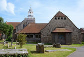 St. Thomas and All Saints Church in Lymington — Stock Photo