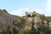 East Hill Cliff funicular railway in Hastings, England — Stock Photo
