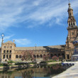 Royalty-Free Stock Photo: The Plaza de España, \