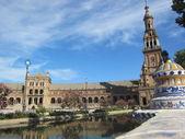 "The Plaza de España, ""Spain Square"". — Stock Photo"