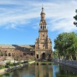 "The Plaza de España, ""Spain Square"". — Stock Photo"