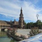 "The Plaza de España, ""Spain Square"". — Stock Photo #13711066"