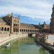 "The Plaza de España, ""Spain Square"". - Stock Photo"
