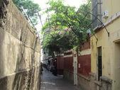 Barrio de Santa Cruz, en Sevilla. — Stock Photo