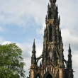 Stock Photo: W. Scott Tower in Edinburgh