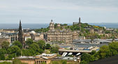 View from the Edinburgh Castle — Stock Photo