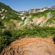 Stock Photo: Mud cauldron in Valley of Geysers