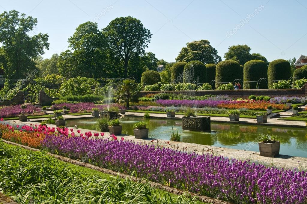 Jardins de kensington dans hyde park photographie for Jardines de kensington