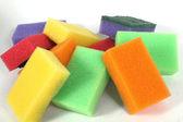 Sponge for washing — Stock Photo
