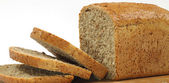 Loaf of wholemeal bread — Stock Photo