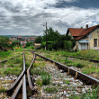 Stock Photo: Railway station in Macedonia