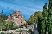 Old church St. John / Jovan Kaneo — Stockfoto