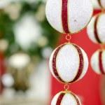 Feliz Navidad y feliz año nuevo, año nuevo — Foto de Stock