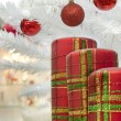 Stock Photo: Merry Christmas and Happy New Year decoration
