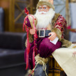 Santa claus figure decoration — Stock Photo
