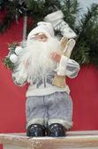 Santa claus figure — Stock Photo