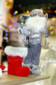 Santa claus figure presentation — Stockfoto