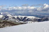 Kar manzara temizleyin — Stok fotoğraf