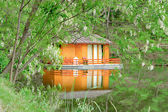 Orange house — Stockfoto