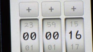 TIMER countdown DIGITAL — Stock Video #25511855