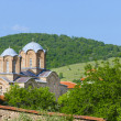 Постер, плакат: Church monastery complex in Lesnovo Macedonia