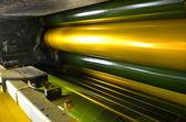 Máquina de impressão — Fotografia Stock