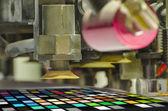 Offset printing press — Stock Photo